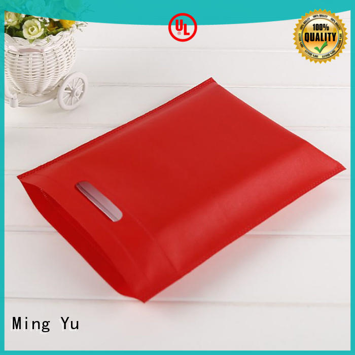 Ming Yu many non woven polyester tote bags spunbond for storage