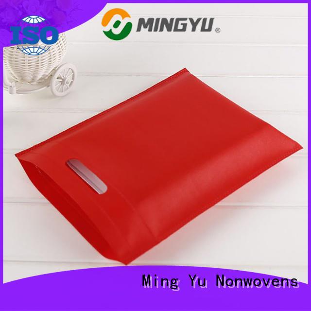 Ming Yu Custom non woven polypropylene bags Supply for bag