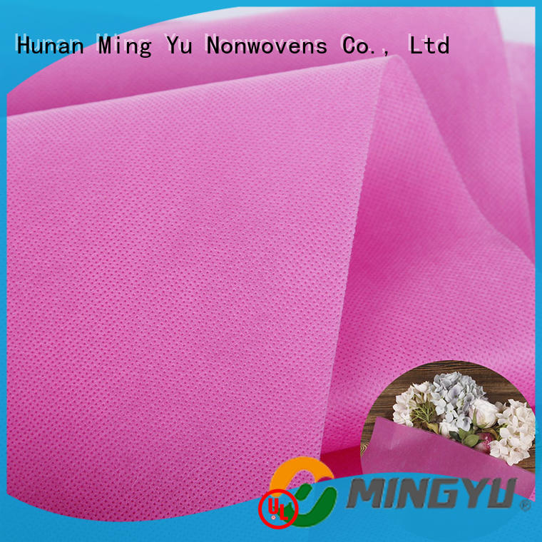 wide spunbond nonwoven fabric fabric rolls for storage