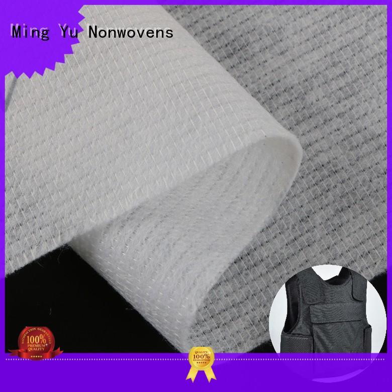 Ming Yu stitch stitchbond polyester fabric pet
