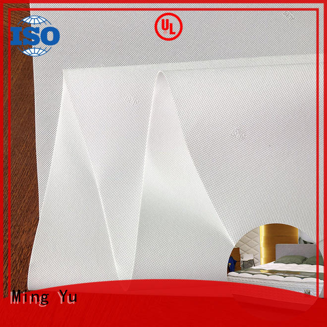 polyester spunbond nonwoven fabric roll Ming Yu