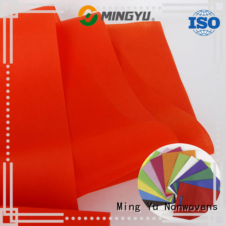 Ming Yu Wholesale pp non woven fabric for business for handbag