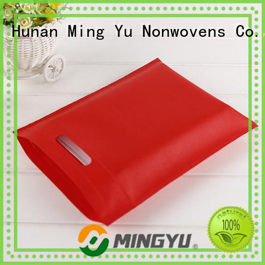 Ming Yu quality non woven tote bags wholesale colors for home textile