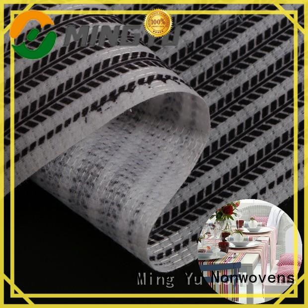 Ming Yu health stitch bonded fabric stitchbond for bag