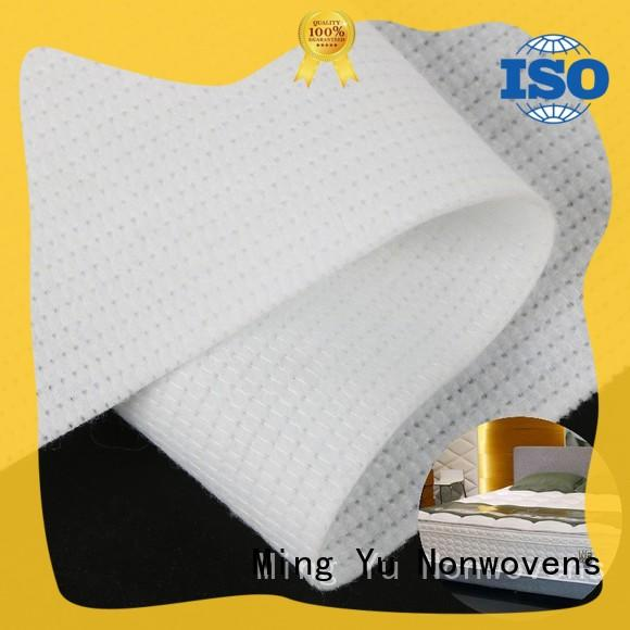stitch bonded polyester fabric harmless for home textile Ming Yu