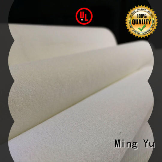 woven needle punched non woven fabric oriented for handbag Ming Yu