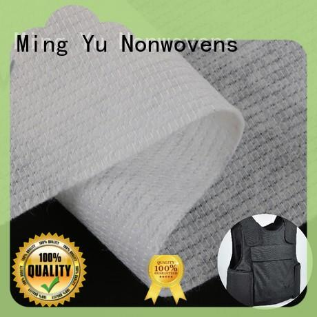 Ming Yu polyester mattress ticking fabric pet for storage