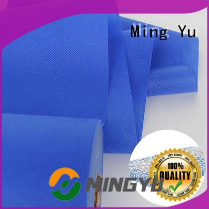Ming Yu handbag pp non woven fabric rolls for handbag