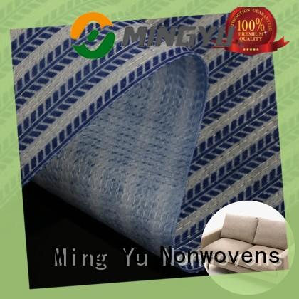 Ming Yu Top stitch bonded nonwoven fabric Supply for package