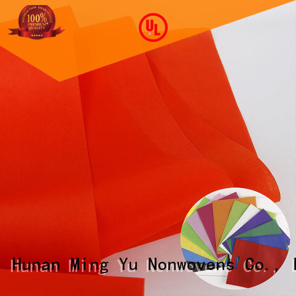 Ming Yu Latest spunbond nonwoven factory for bag
