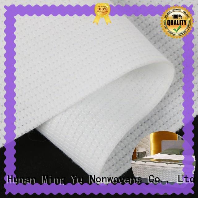 Ming Yu health mattress ticking fabric polyester for storage