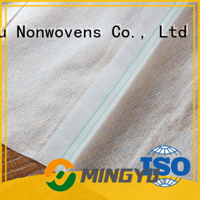 Ming Yu High-quality agriculture non woven fabric Supply for home textile