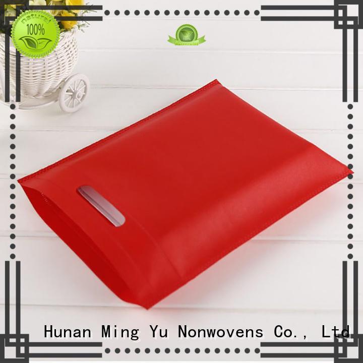 Ming Yu spunbond non woven shopping bag colors for handbag