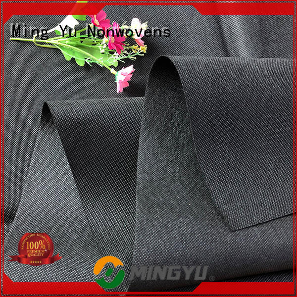 Ming Yu control agricultural fabric manufacturers for handbag