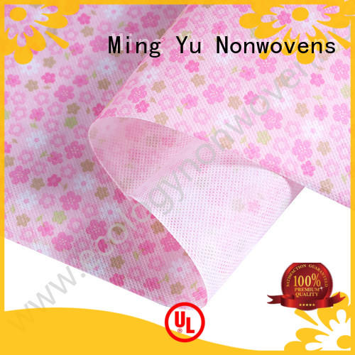 Ming Yu polypropylene spunbond nonwoven fabric manufacturers for storage