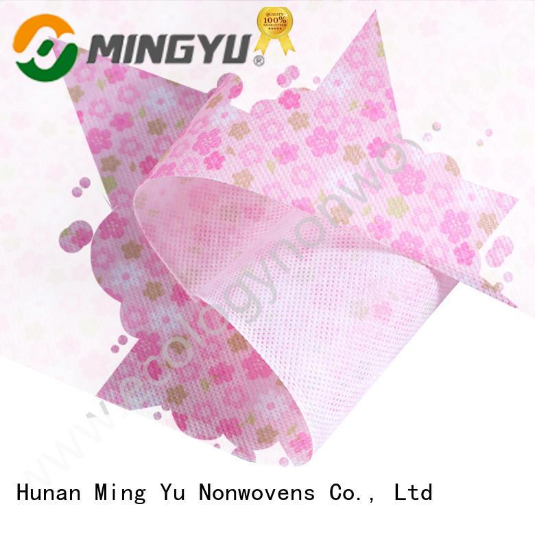 Ming Yu rolls non woven polypropylene fabric handbag for handbag