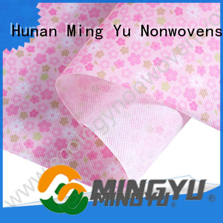 Ming Yu textile spunbond nonwoven fabric rolls for home textile