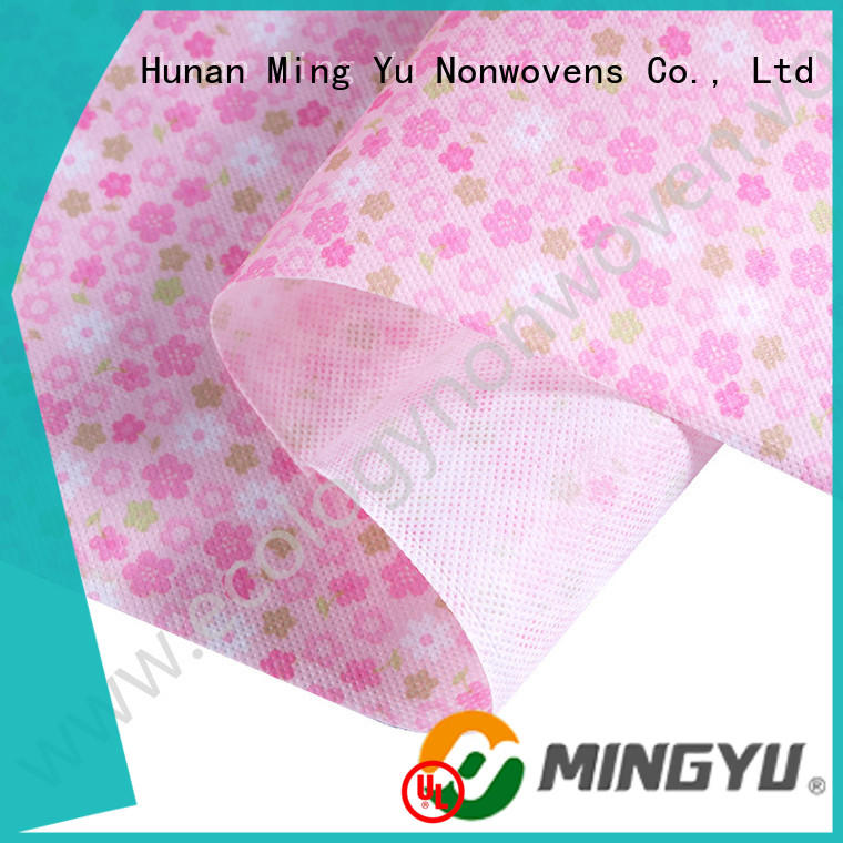 Ming Yu recyclable non woven polypropylene rolls for storage