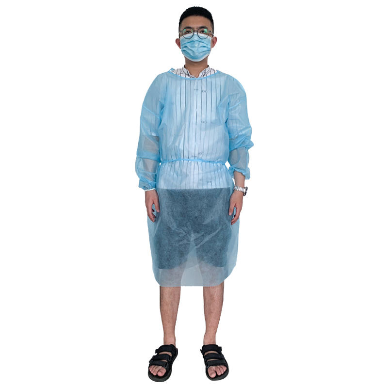 Disposable PP surgical gown