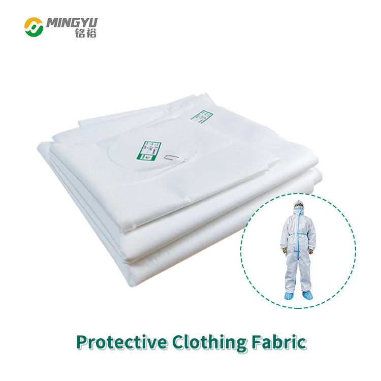 Disposable protective clothing fabric PP+PE waterproof protective clothing fabric