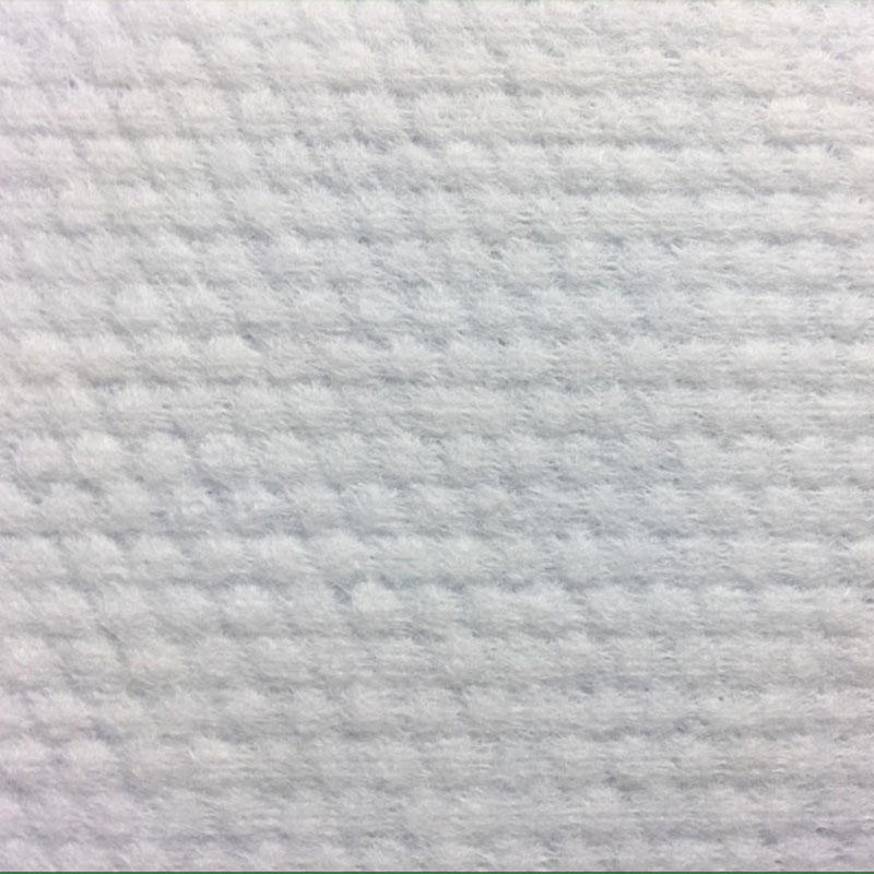 Spunlace non woven fabric customized non-woven fabric with pearl texture
