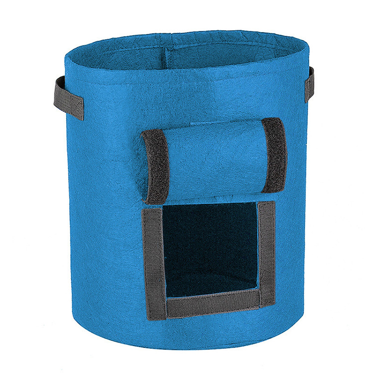 Custom non woven seedling bags company-2
