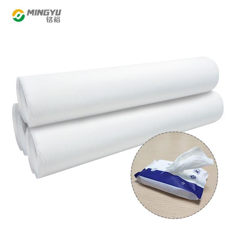 Flushable spunlace nonwoven fabric