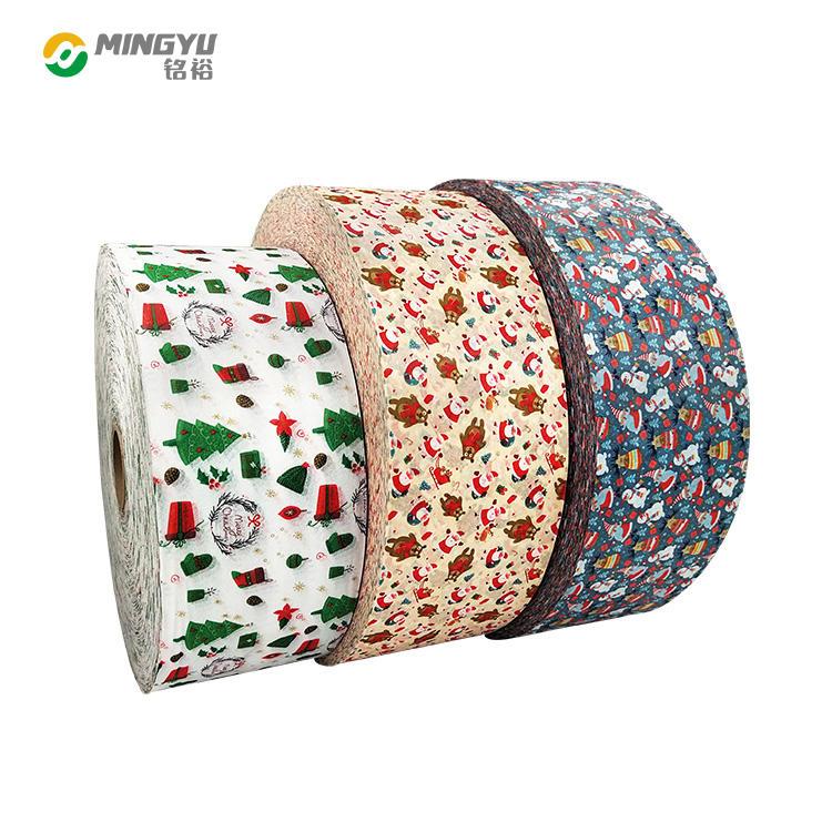 Christmas masks Non woven fabric