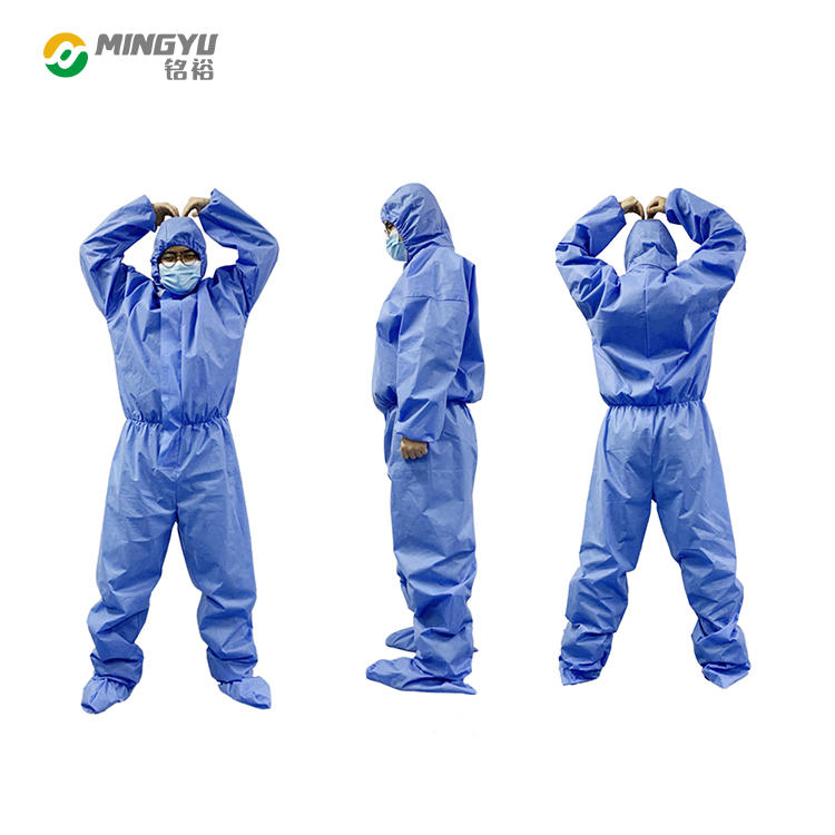 Disposable medical isolation gown