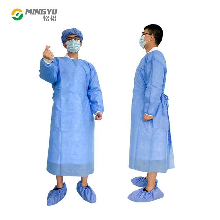 Breathable and waterproof sms Surgical gown