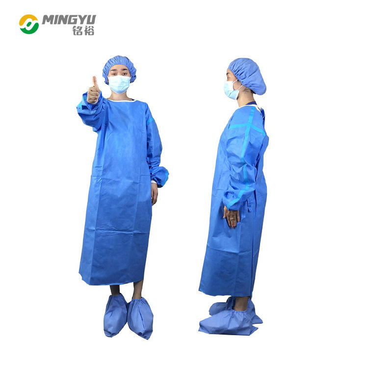 Reinforced Lab Gowns