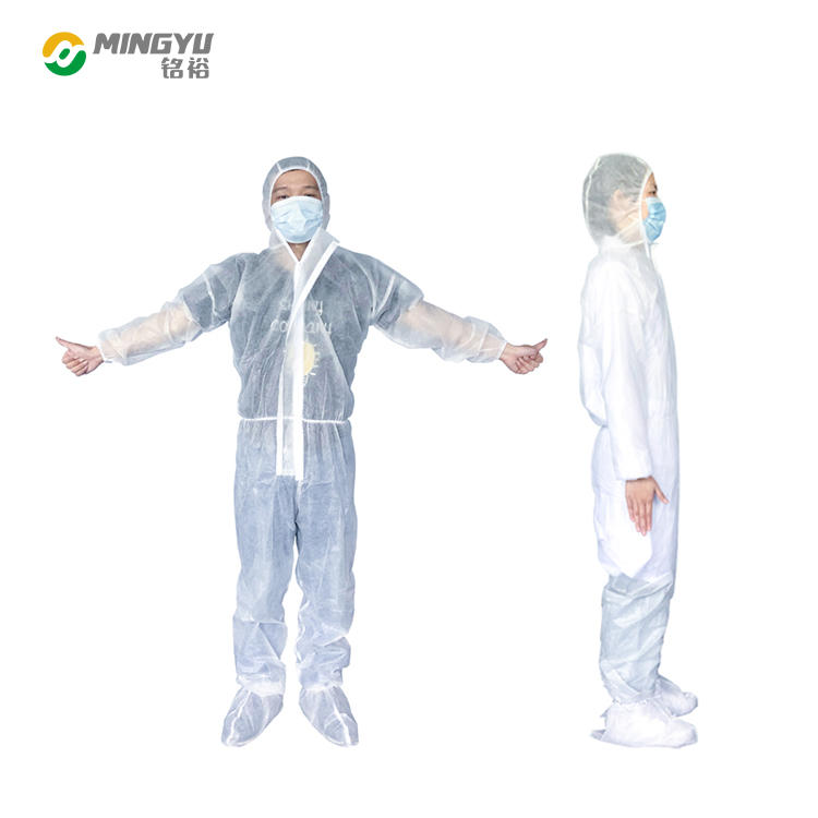 Hooded dust-proof disposable isolation coats