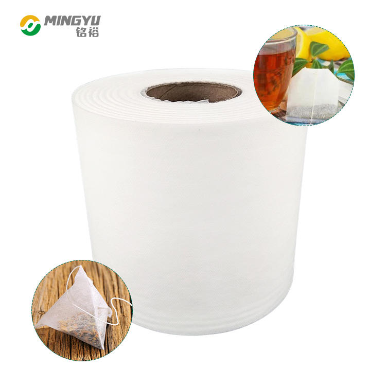 Biodegradable pp spunbond pla nonwoven fabric for tea bags