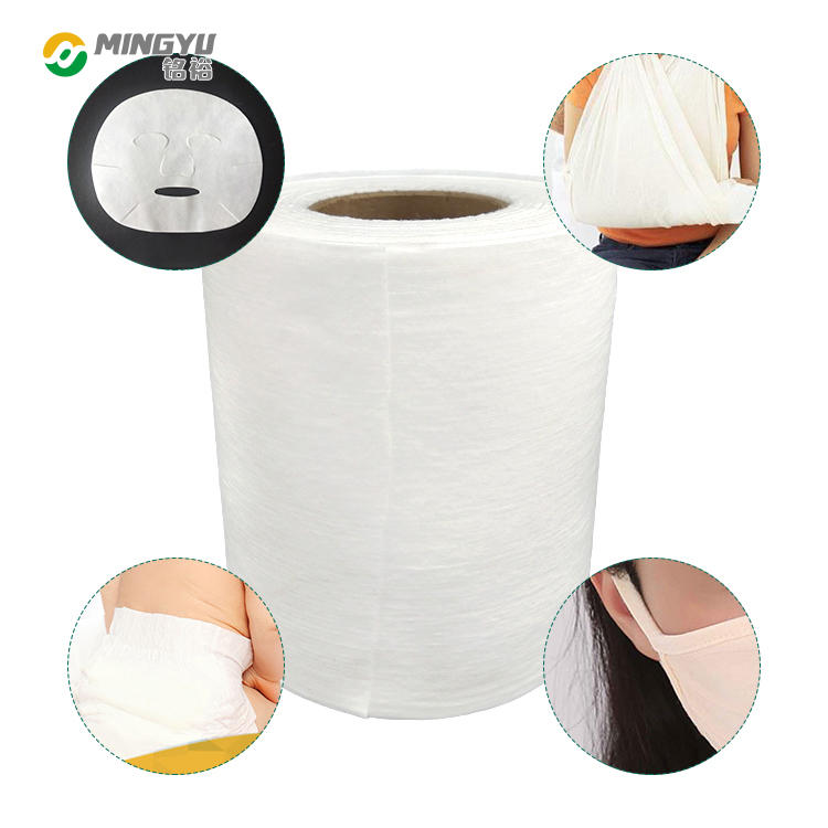 Mingyu material pp spunbond elastic nonwoven fabric for earrings loops steam eye mask