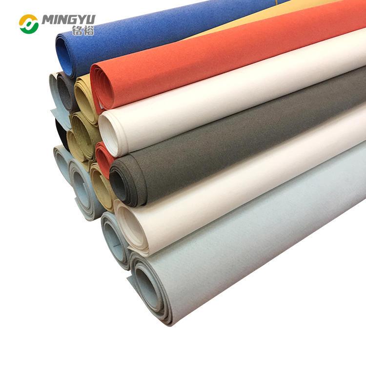 polyester microfiber high density spandex non woven fabric