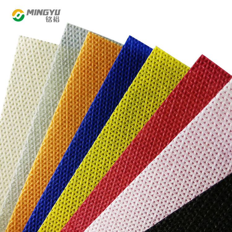 Colorful eco-friendly non woven fabric bag material