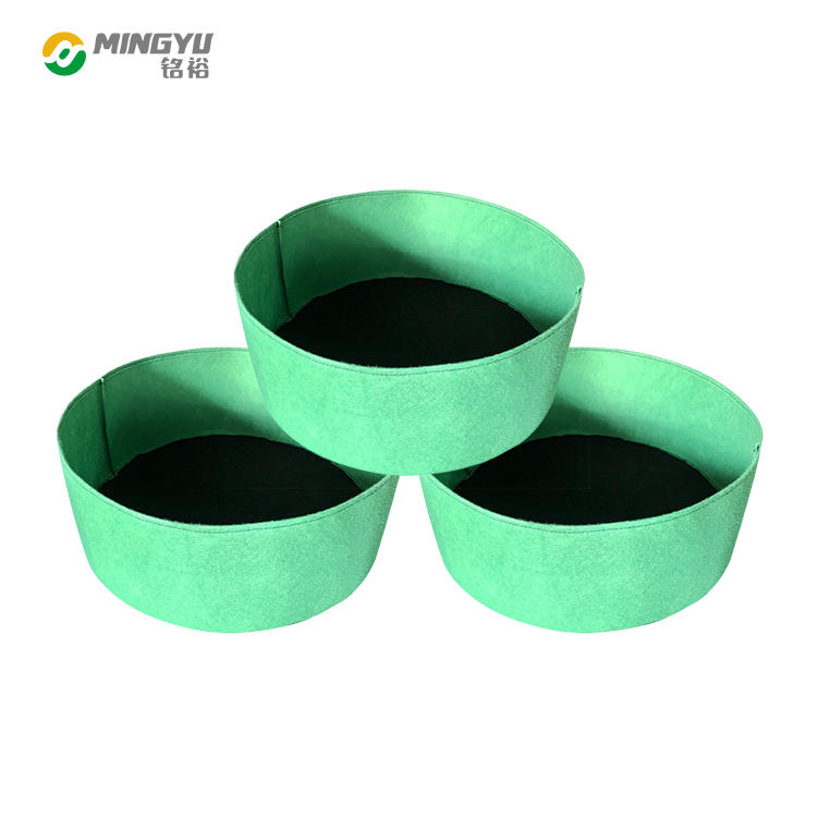 nonwoven heavybduty felt big size grow bags container