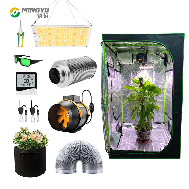 Led light complete grow tent