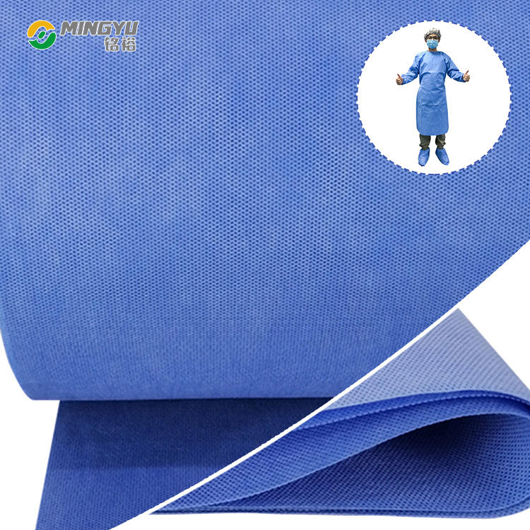 Surgical gown making material ss sms smms smmms nonwoven fabric