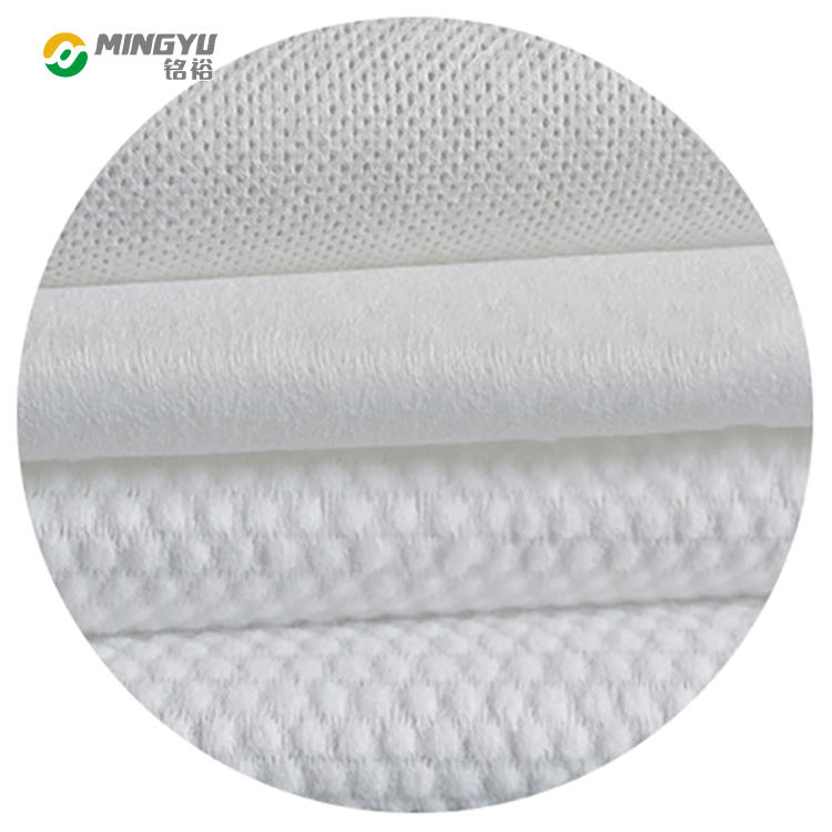 PP 40gsm spunlace nonwoven fabric for for wet wipes and baby diapers