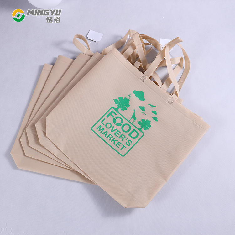 Eco promotional nonwoven shopping grocery bag
