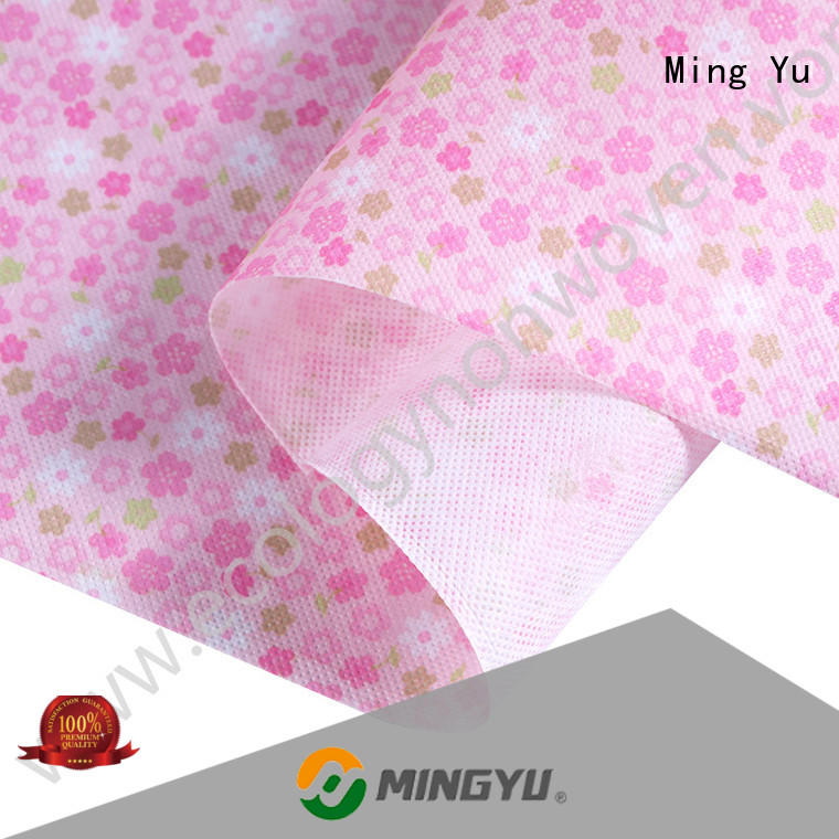 Latest non woven polypropylene fabric colorful Suppliers for home textile