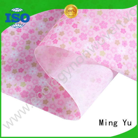 Ming Yu recyclable spunbond nonwoven handbag for home textile