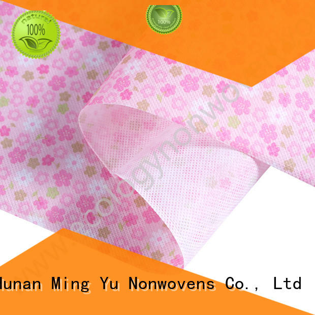 Ming Yu fabric non woven polypropylene nonwoven for package