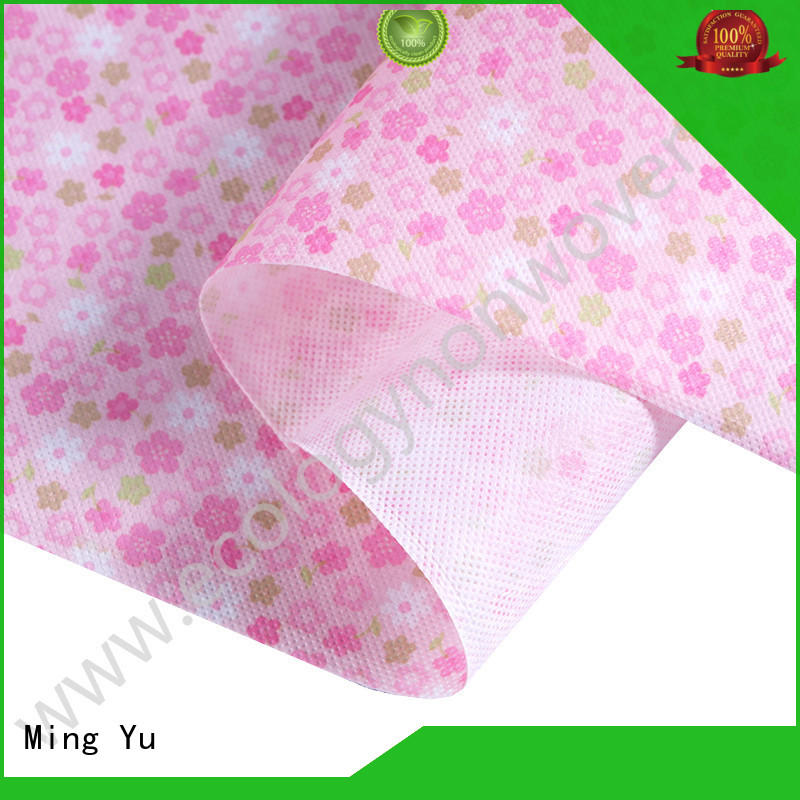 Ming Yu moistureproof woven polypropylene fabric handbag for handbag