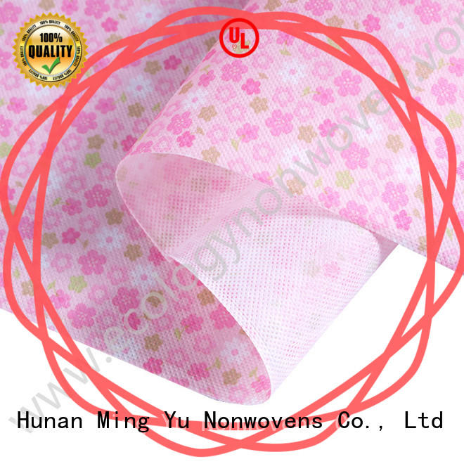 Ming Yu recyclable non woven polypropylene fabric handbag for package