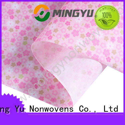 Ming Yu moistureproof non woven polypropylene rolls for package