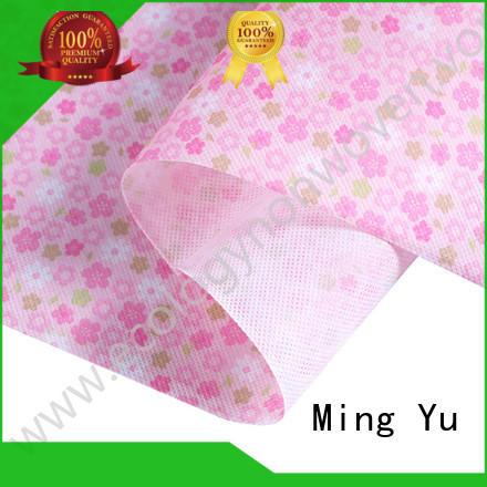 Ming Yu polypropylene pp non woven fabric nonwoven for home textile