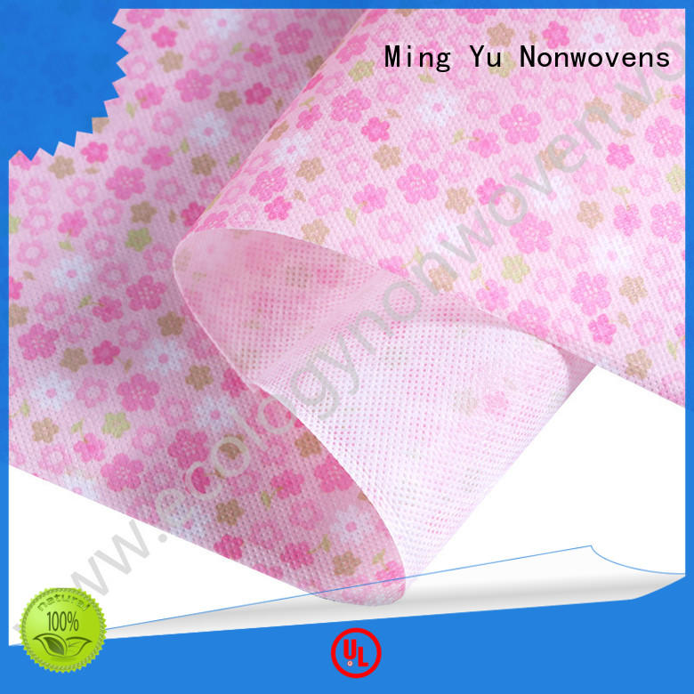 Ming Yu recyclable pp spunbond nonwoven moistureproof for handbag