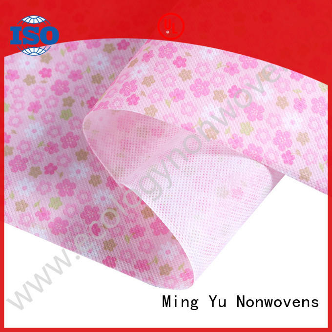 Ming Yu roll woven polypropylene fabric for business for handbag